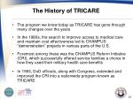 the history of tricare