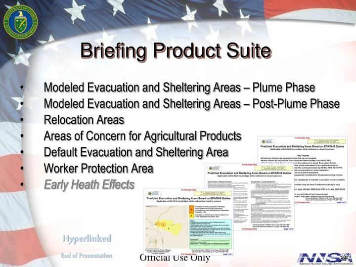 Briefing Product Suite