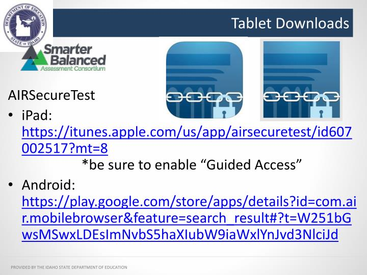 Tablet Downloads