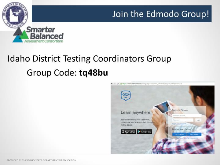 Join the Edmodo Group!