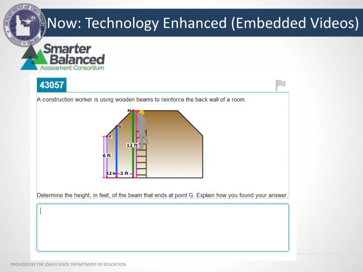 Now: Technology Enhanced (Embedded Videos)