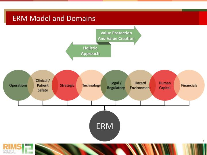 ERM Model and Domains