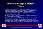 ventricular septal defect class i1