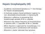 hepatic encephalopathy he