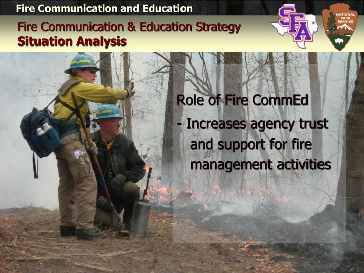 Role of Fire