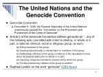 the united nations and the genocide convention