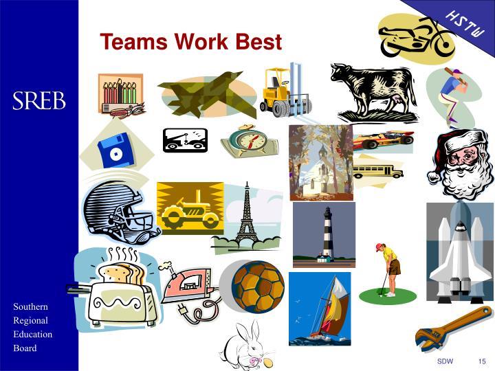 Teams Work Best