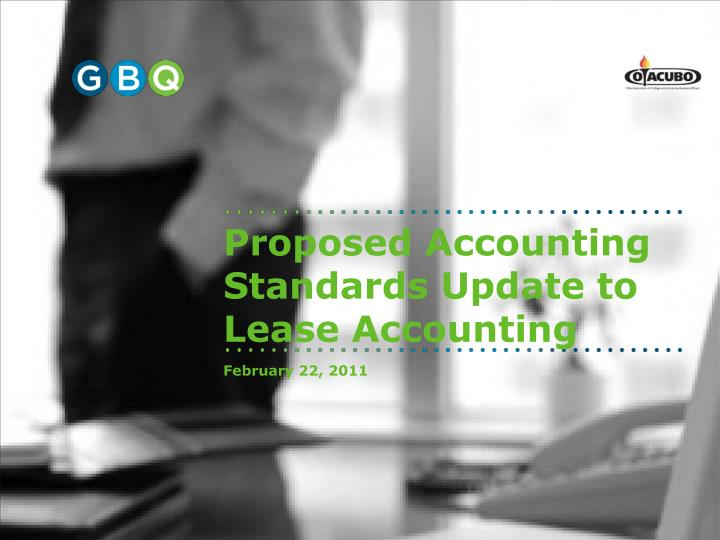 proposed accounting standards update to lease accounting n.