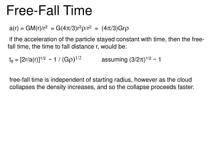 Free-Fall Time