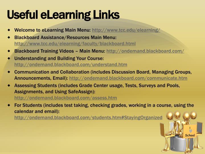 Useful eLearning Links