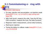 3 1 commissioning e ring with scq