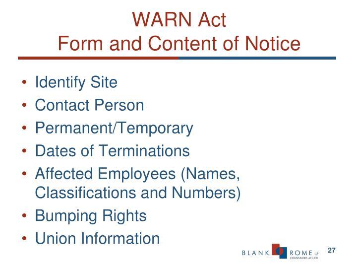 WARN Act