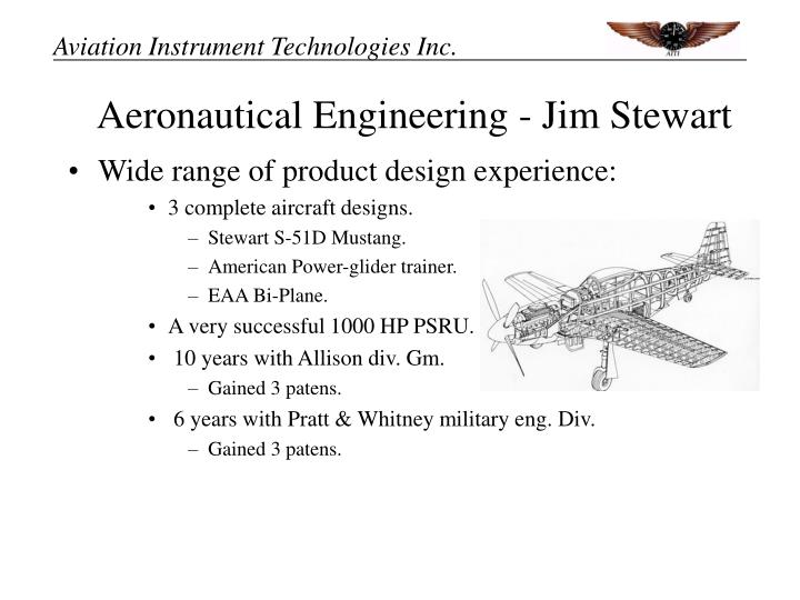 Aeronautical Engineering - Jim Stewart