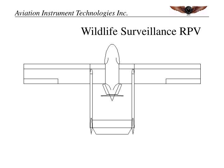Wildlife surveillance rpv