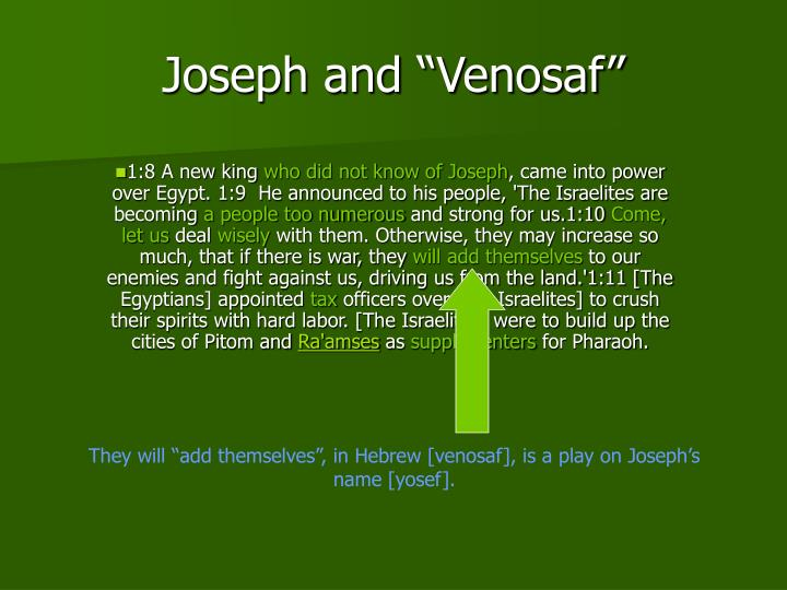 "Joseph and ""Venosaf"""