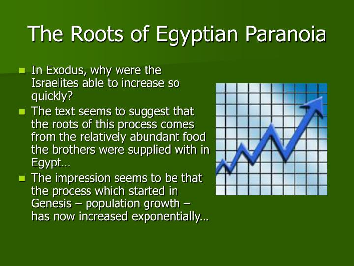 The Roots of Egyptian Paranoia