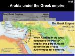 arabia under the greek empire