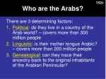 who are the arabs1