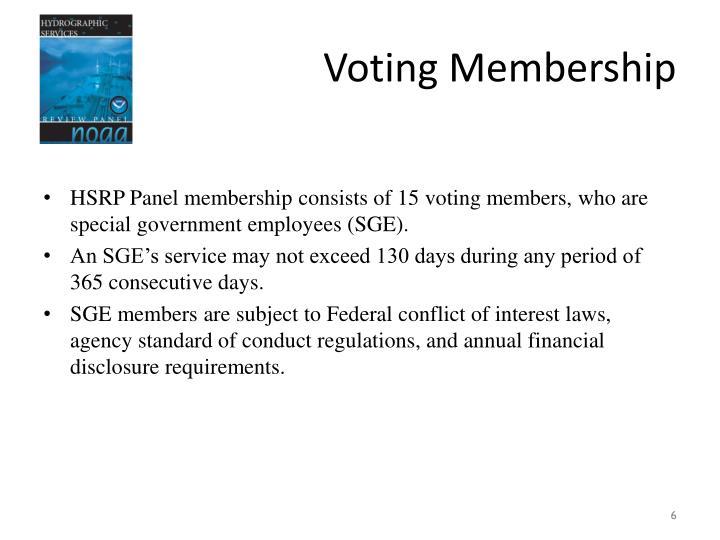 Voting Membership