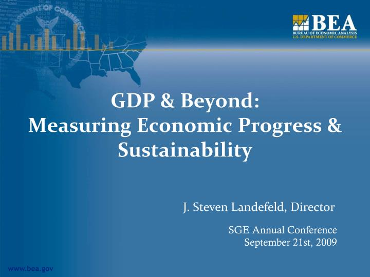 gdp beyond measuring economic progress sustainability