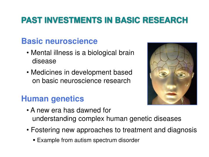 PAST INVESTMENTS IN BASIC RESEARCH