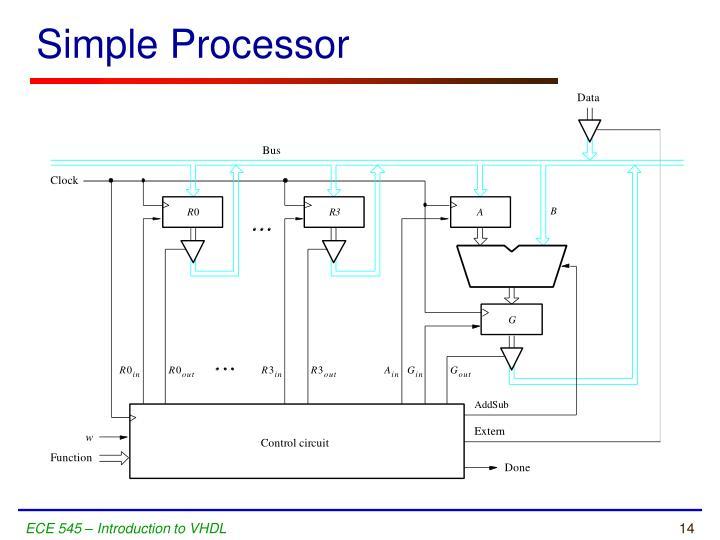 Simple Processor