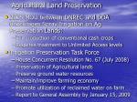 agricultural land preservation