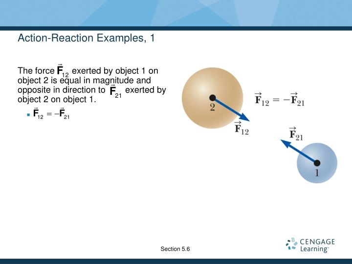 Action-Reaction Examples, 1