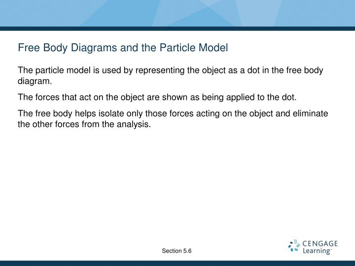 Free Body Diagrams and the Particle Model
