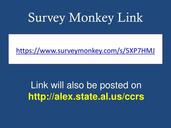 Survey Monkey Link