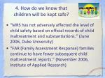 4 how do we know that children will be kept safe