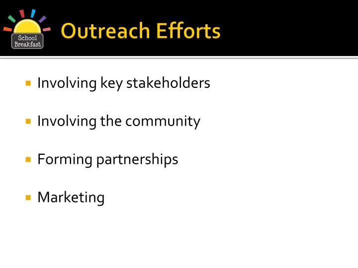 Outreach Efforts