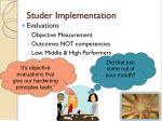 studer implementation