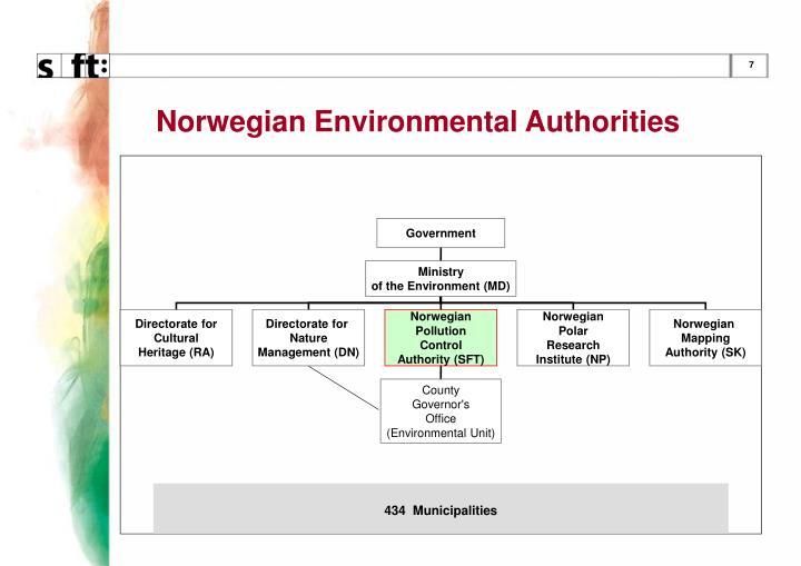 Norwegian Environmental Authorities