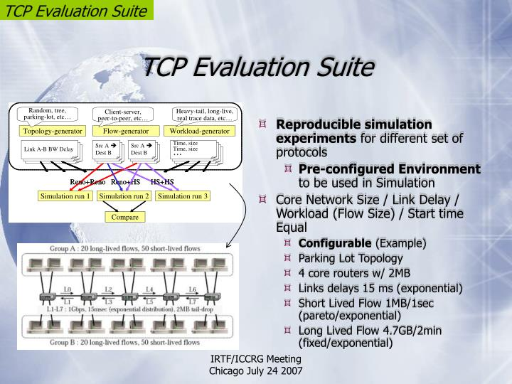 TCP Evaluation Suite