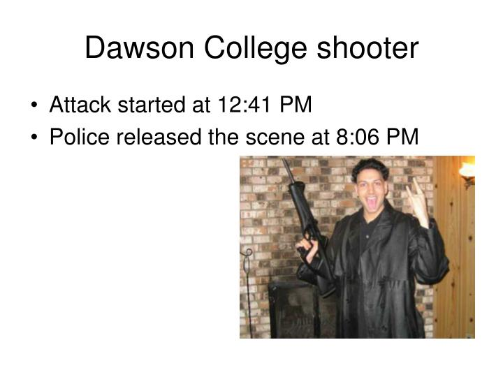 Dawson college shooter