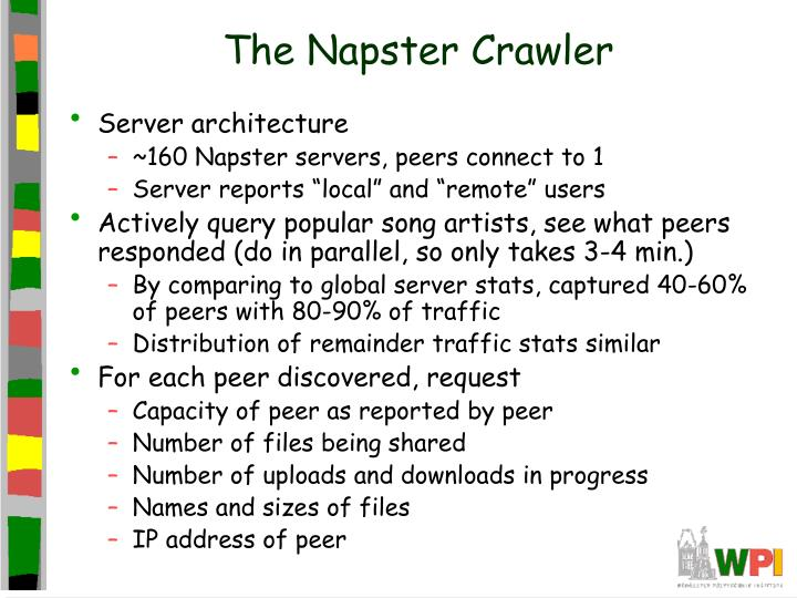 The Napster Crawler
