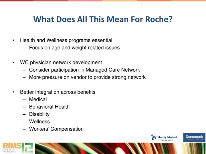 What Does All This Mean For Roche?