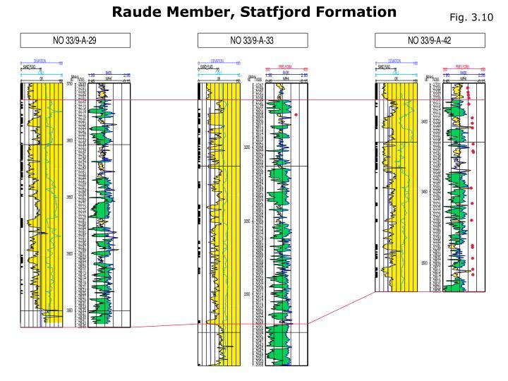 Raude Member, Statfjord Formation