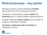 referral process key points