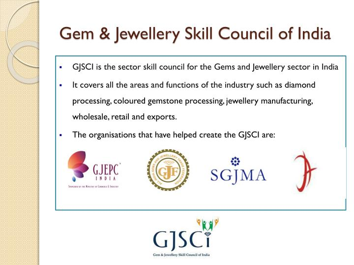Gem jewellery skill council of india