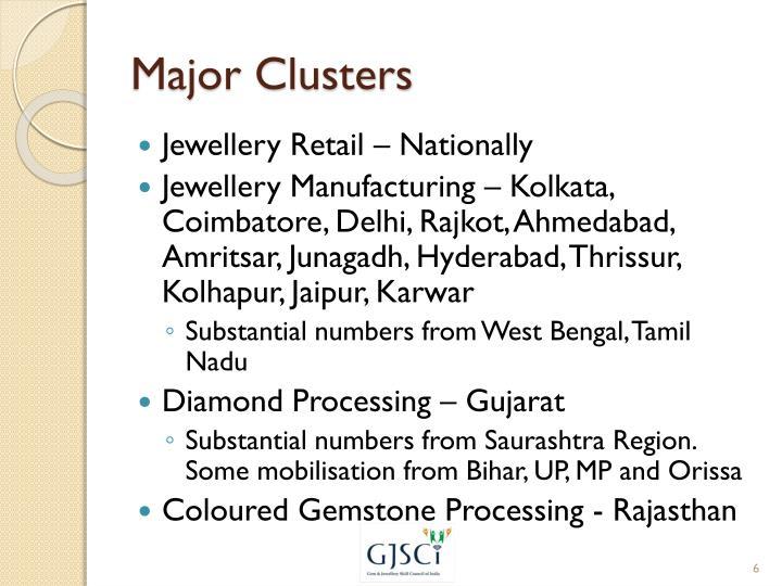 Major Clusters