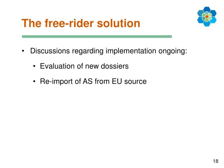 The free-rider solution