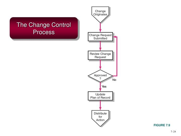 The Change Control Process