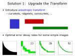 solution 1 upgrade the transform