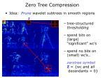 zero tree compression
