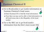 eastman chemical ii