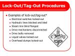 lock out tag out procedures1