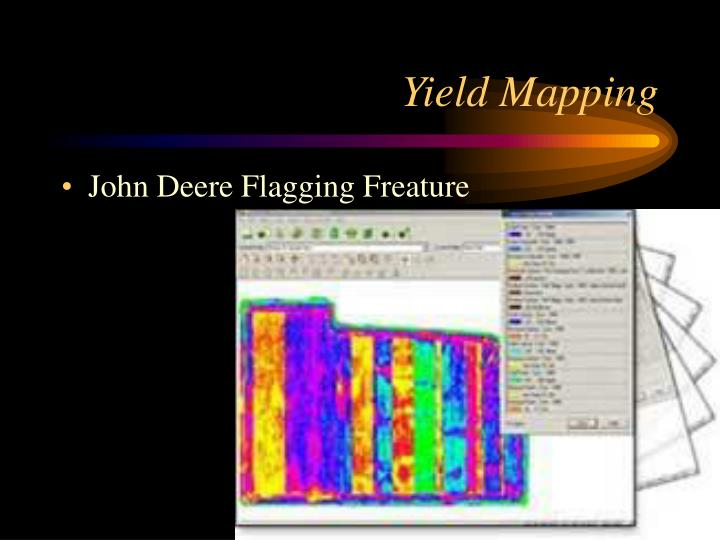 Yield Mapping