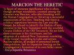 marcion the heretic